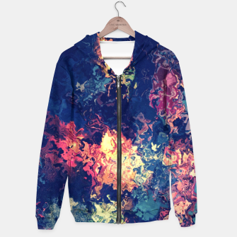 Thumbnail image of Colors flowing Hoodie, Live Heroes