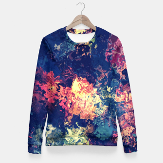 Miniature de image de Colors flowing Fitted Waist Sweater, Live Heroes