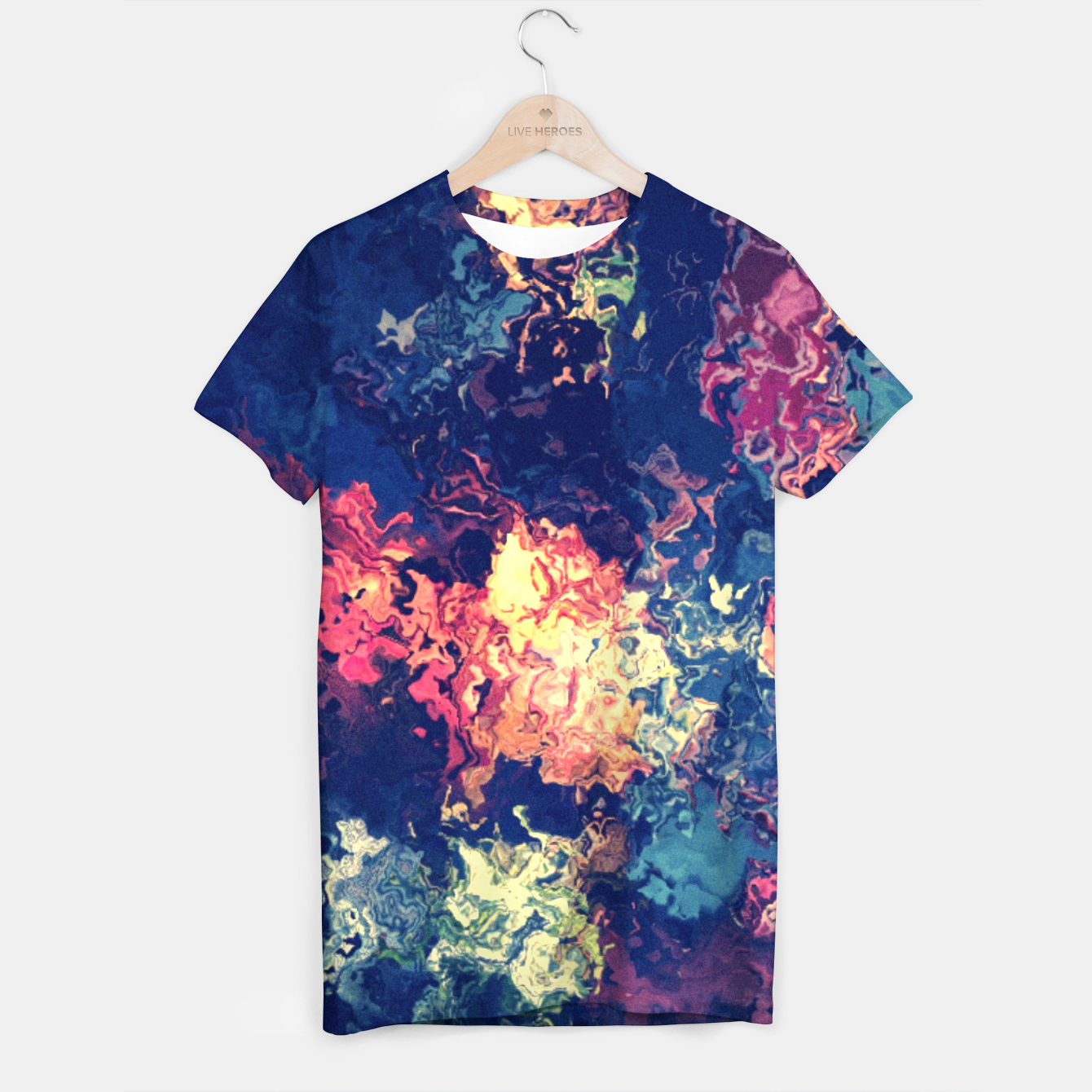 Image de Colors flowing T-shirt - Live Heroes