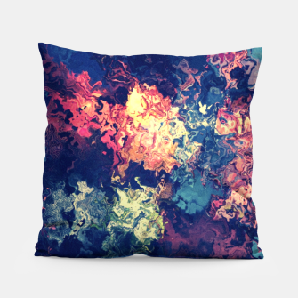 Colors flowing Pillow miniature