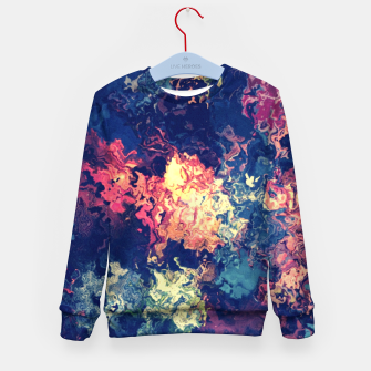 Thumbnail image of Colors flowing Kid's Sweater, Live Heroes
