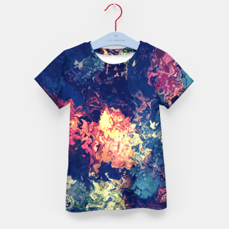 Colors flowing Kid's T-shirt miniature