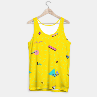 Miniatur Yellow 90s by The Sonnyfive Tank Top, Live Heroes