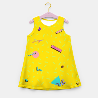 Thumbnail image of Yellop by The Sonnyfive Girl's Summer Dress, Live Heroes