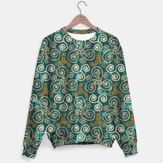 Miniatur Lovely Ornaments Design  Sweater, Live Heroes