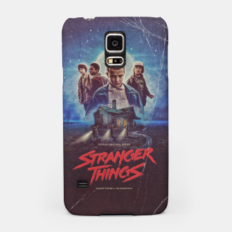 Stranger Things by The Sonnyfive Samsung Case thumbnail image