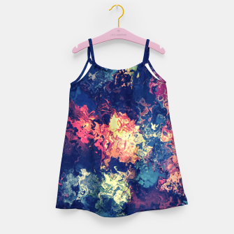 Colors flowing Girl's Dress miniature