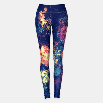 Thumbnail image of Colors flowing Leggings, Live Heroes