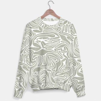Miniatur Neutral Cabbage Labyrinth Sweater, Live Heroes