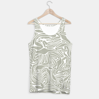 Miniatur Neutral Cabbage Labyrinth Tank Top, Live Heroes