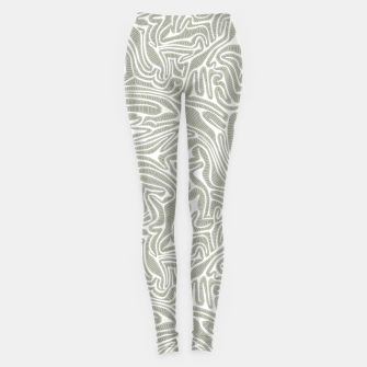 Thumbnail image of Neutral Cabbage Labyrinth Leggings, Live Heroes