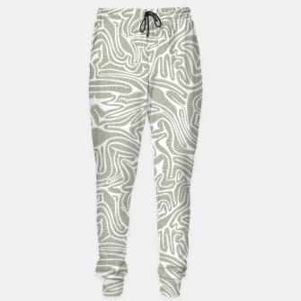 Thumbnail image of Neutral Cabbage Labyrinth Sweatpants, Live Heroes