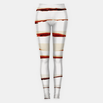 Thumbnail image of stripes pattern Leggings, Live Heroes