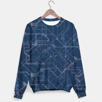 Miniatur Public Transport Network Sweater, Live Heroes
