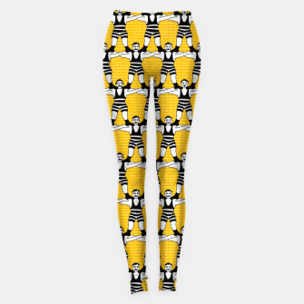 Thumbnail image of Circus Strongmen Wall Leggings, Live Heroes