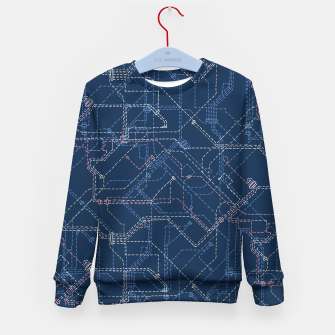 Thumbnail image of Public Transport Network Kid's Sweater, Live Heroes