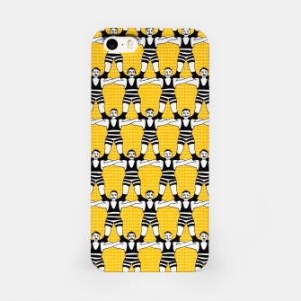 Thumbnail image of Circus Strongmen Wall iPhone Case, Live Heroes
