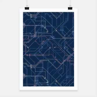 Thumbnail image of Public Transport Network Poster, Live Heroes