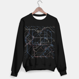 Thumbnail image of Public Transport Network Map Sweater regular, Live Heroes
