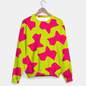 Miniatur Crazy Animal Print Sweater, Live Heroes