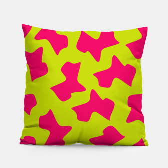 Thumbnail image of Crazy Animal Print Pillow, Live Heroes