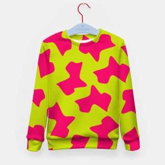 Thumbnail image of Crazy Animal Print Kid's Sweater, Live Heroes
