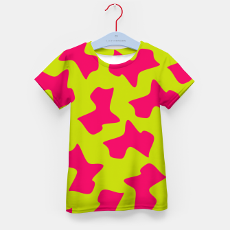 Thumbnail image of Crazy Animal Print Kid's T-shirt, Live Heroes