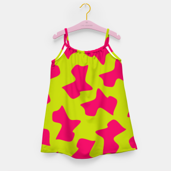 Thumbnail image of Crazy Animal Print Girl's Dress, Live Heroes
