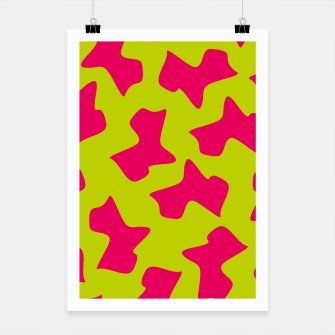 Thumbnail image of Crazy Animal Print Poster, Live Heroes