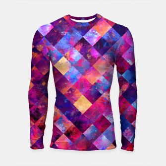 Miniature de image de Abstract Design Longsleeve Rashguard , Live Heroes