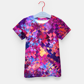 Miniatur Abstract Design Kid's T-shirt, Live Heroes