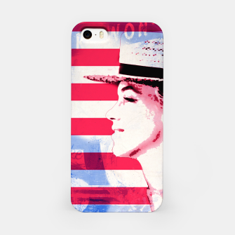 Thumbnail image of Marilyn portrait nº1 iPhone Case, Live Heroes