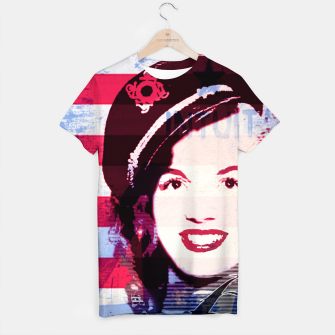 Thumbnail image of Marilyn portrait nº2 T-shirt, Live Heroes
