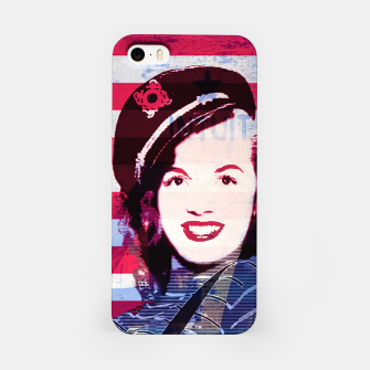 Miniatur Marilyn portrait nº2 iPhone Case, Live Heroes