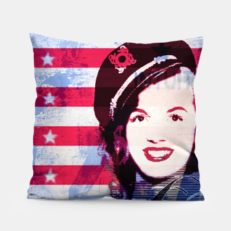 Thumbnail image of Marilyn portrait nº2 Pillow, Live Heroes