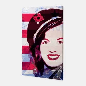 Thumbnail image of Marilyn portrait nº2 Canvas, Live Heroes