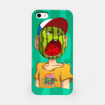 Thumbnail image of Watermelon boy iPhone Case, Live Heroes