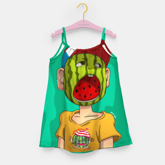 Thumbnail image of Watermelon boy Girl's Dress, Live Heroes