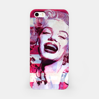 Thumbnail image of Marilyn portrait nº3 iPhone Case, Live Heroes