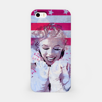 Thumbnail image of Marilyn portrait nº4 iPhone Case, Live Heroes