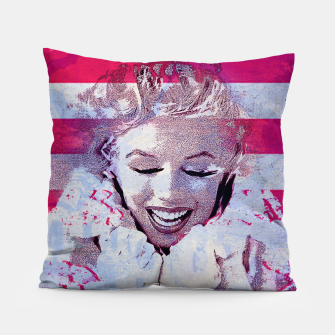 Thumbnail image of Marilyn portrait nº4 Pillow, Live Heroes