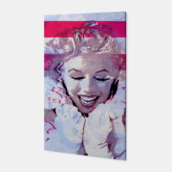 Marilyn portrait nº4 Canvas Bild der Miniatur