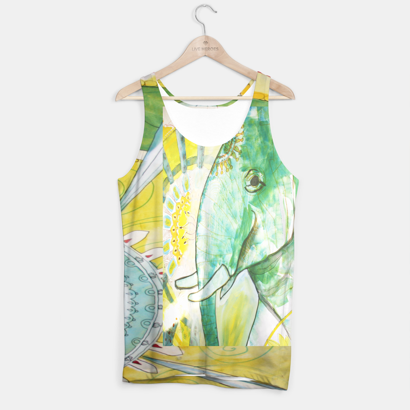 Image of Elephant India Tank Top - Live Heroes