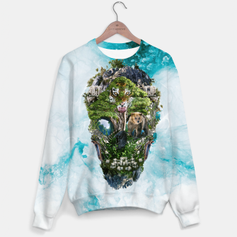 Thumbnail image of Skull Nature III Sweater, Live Heroes