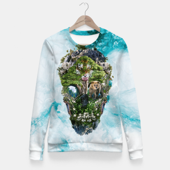 Thumbnail image of Skull Nature III Fitted Waist Sweater, Live Heroes