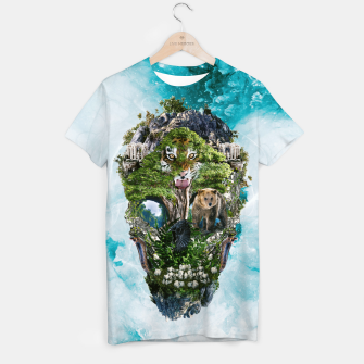Thumbnail image of Skull Nature III T-shirt, Live Heroes
