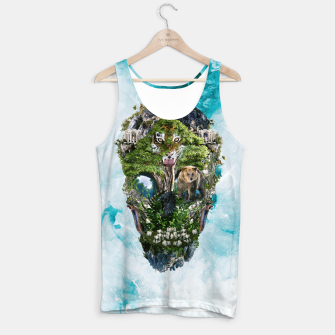 Thumbnail image of Skull Nature III Tank Top, Live Heroes