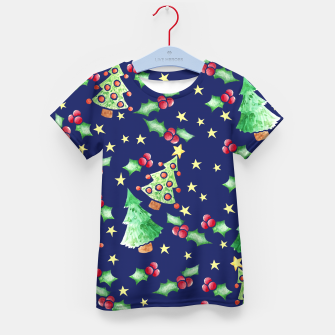 Thumbnail image of Festive holidays Kid's T-shirt, Live Heroes
