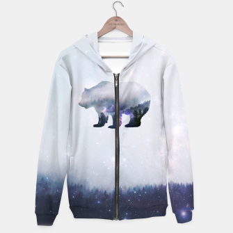 Thumbnail image of Star Bear Zip up hoodie, Live Heroes