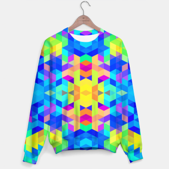 Abstract Colorful Pattern Sweater Bild der Miniatur